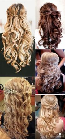 wedding photo - 55 Romantic Wedding Hairstyle Ideas Having A Perfect Balance Of Elegance And Trendy
