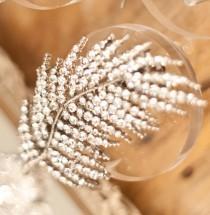 wedding photo - Bridal Hair Crystal Leaf Wedding Accessories