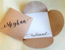 wedding photo - Will You Be My Bridesmaid, MOH Card, Will you be my Flower Girl, Matron of Honor