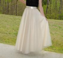 wedding photo - Maxi Circle Tulle Skirt,Premium Quality Tulle,Soft Tulle skirt,Adult tulle skirt,custom made tulle skirt from my FabBoutique!
