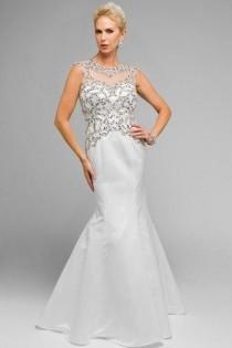 wedding photo - Inexpensive Strapless Mermaid Wedding Dress Jul#624w