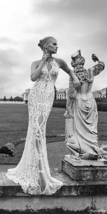 wedding photo - Nurit Hen Ivory And White 2017 Wedding Dresses