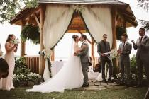 wedding photo - A Country-Chic Wedding In Montebello, Quebec