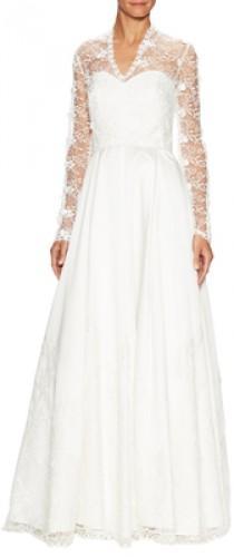 wedding photo - Amazing Lace Wedding Gown