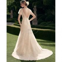 wedding photo - Casablanca Bridal Fall 2014 - Style- 2178 - Elegant Wedding Dresses