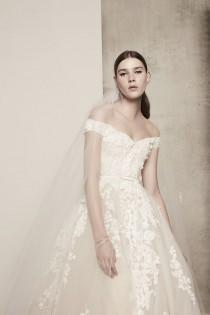 wedding photo - ELIE SAAB BRIDAL SPRINGS INTO BLOOM