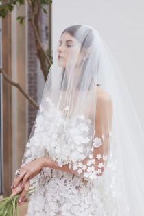 wedding photo - Fernando Garcia And Laura Kim's Debut Oscar De La Renta Bridal Collection