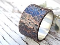 wedding photo - bold mens wedding band, wide mens ring copper silver, ring industrial wedding rustic, cool mens ring, personalized mens ring mixed metal