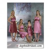wedding photo - Forever Yours Style 710111 Bridesmaids Gowns - Compelling Wedding Dresses