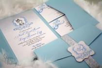wedding photo - Fairy tale Wedding Invitations