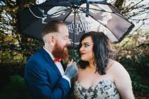 wedding photo - Creepy Gothic Wedding