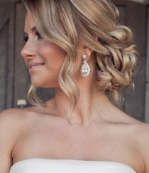 wedding photo - Choosing Your Wedding Hair Style - Engaged & Inspired - Loverly