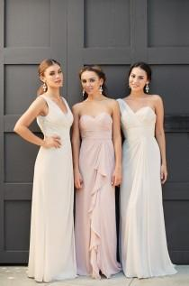 wedding photo - Vow to be Chic: Designer Bridesmaid Dresses You Rent - MODwedding