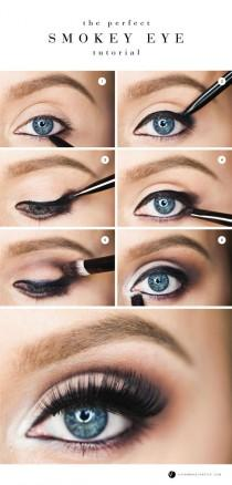wedding photo - The Perfect Smokey Eye