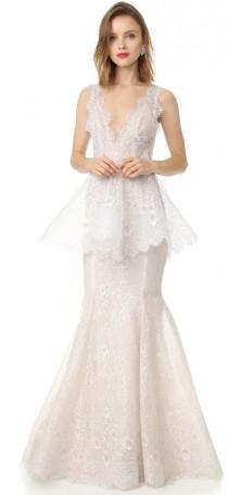 wedding photo - Marchesa Lavender Gown