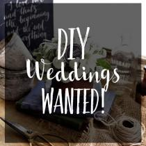 wedding photo - Be Featured In Modern Wedding: DIY Backyard Weddings Wanted