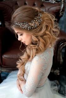wedding photo - 33 Elegant Wedding Hairstyles For Long Hair