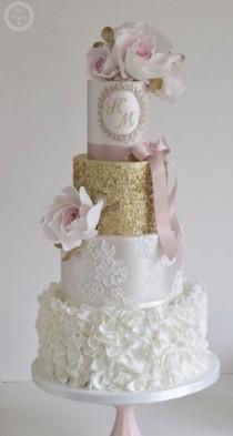 wedding photo - Cotton & Crumbs Wedding Cake Inspiration