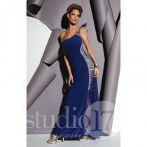 wedding photo - Blush Studio 17 12450 - Jersey Knit Sexy Sheer Dress - Customize Your Prom Dress
