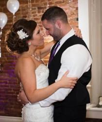 wedding photo - Bridal hair accessory, Wedding hair flower, Bridal hair flower, Lace hairpiece, Pearl hairpiece, Vintage style headpiece, Wedding headpiece