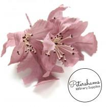 wedding photo - Vintage 1960's-80's Dusky Pink Oak Blossom Millinery Hat Mount