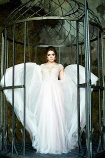 wedding photo - Wedding Dress Rose Bohemian Wedding Dress  Boho Wedding Dress  Vintage Wedding Dress Color Wedding Dress Fairy Wedding Dress Beach Wedding