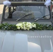 wedding photo - Fioreria Oltre Wedding Car Decorations