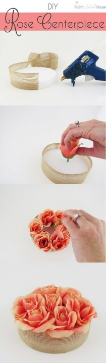 wedding photo - 100 DIY Wedding Centerpieces On A Budget