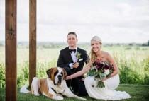 wedding photo - Romantic Ontario Farm Wedding