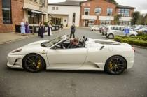wedding photo - Spark Up Your Big Day With An Exciting Wedding Car
