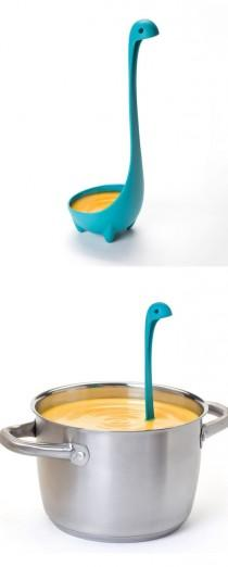 wedding photo - Nessie Ladle Spoon Blue