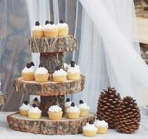 wedding photo - 30 Cool Cake Stands You Can Buy And DIY