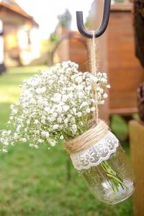 wedding photo - Shabby & Chic Vintage Wedding Decor Ideas