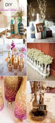 wedding photo - 40 DIY Wedding Centerpieces Ideas For Your Reception