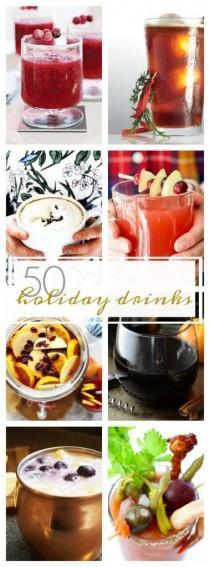 wedding photo - 50 Holiday Drinks