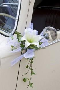 wedding photo - Décoration De Voiture