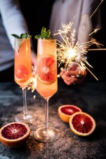 wedding photo - Blood Orange Champagne Mule