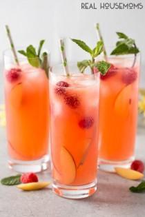 wedding photo - Peach Raspberry Lemonade