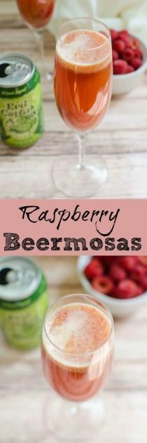 wedding photo - Raspberry Beermosas