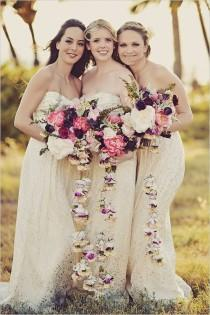 wedding photo - Boho Chic Wedding In Hawaii