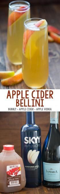 wedding photo - Apple Cider Bellini