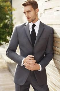 wedding photo - Black By Vera Wang: Men's Wedding Suits