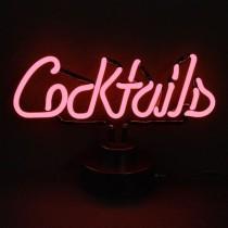 wedding photo - Cocktails Neon Sculpture