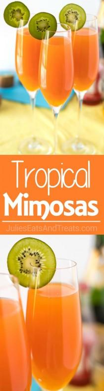 wedding photo - Tropical Mimosas