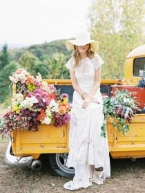 wedding photo - A Fall Wedding And Honeymoon Inspiration With Trent Bailey Photography