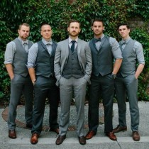 wedding photo - 3 Trends For Grooms In 2015