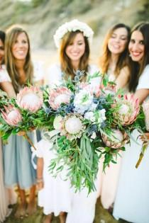 wedding photo - Tropical-Inspired Wedding In Sunny Greece