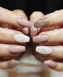 wedding photo - 50 Beautiful Nail Designs To Try This Winter