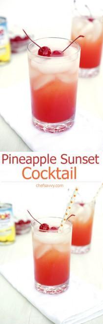 wedding photo - Pineapple Sunset