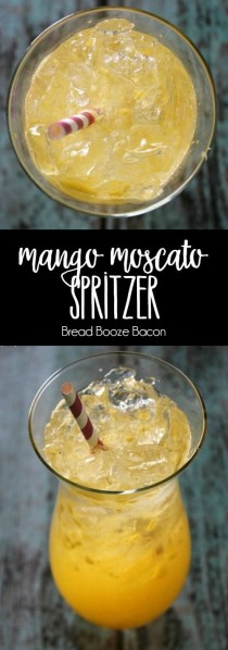 wedding photo - Mango Moscato Spritzer
